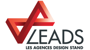 Leads agence design stand